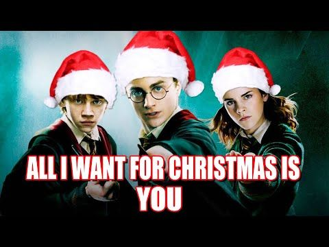 All I Want For Christmas Is You Cover By Harry Potter Youtube In 2020 Harry Potter Christmas Harry Potter Youtube Harry Potter