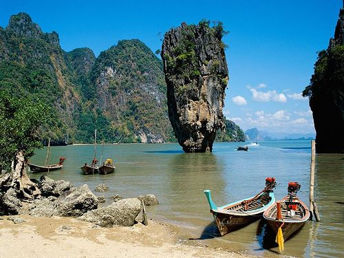 Phang-nga Bay, Thailand  #phang-nga #bay #thailand #asia #holidays #vacation #travel #traveling #adventure #tour #trip www.qdkfqsz.com