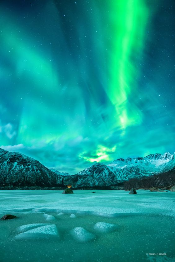 seeing aurora borealis norway budget