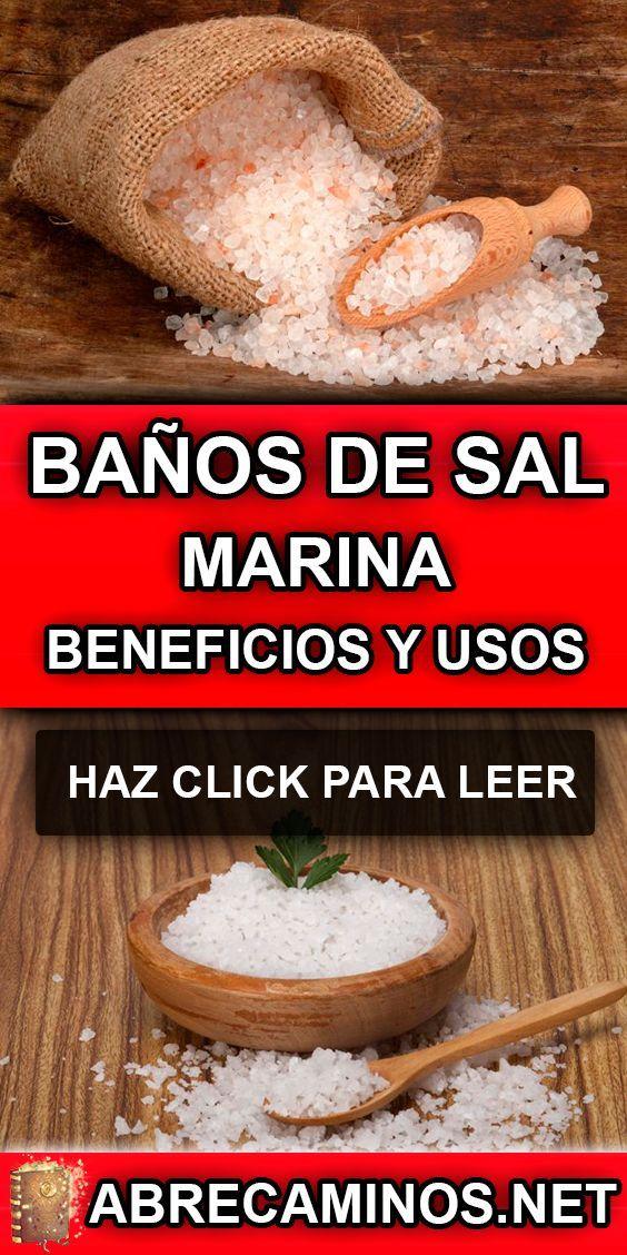 Banos De Sal Marina Beneficios Y Como Hacerlos Sal Marina Sal