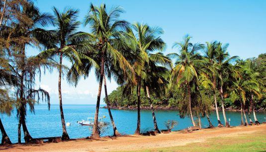 La Guyane, French Guiana Îles du salut