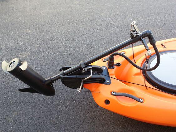 Kayak trolling motor mount diy for Fishing kayak with trolling motor