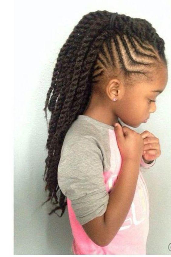 15 peinados f ciles y bonitos para ni as con el pelo afro - Peinados actuales de moda ...