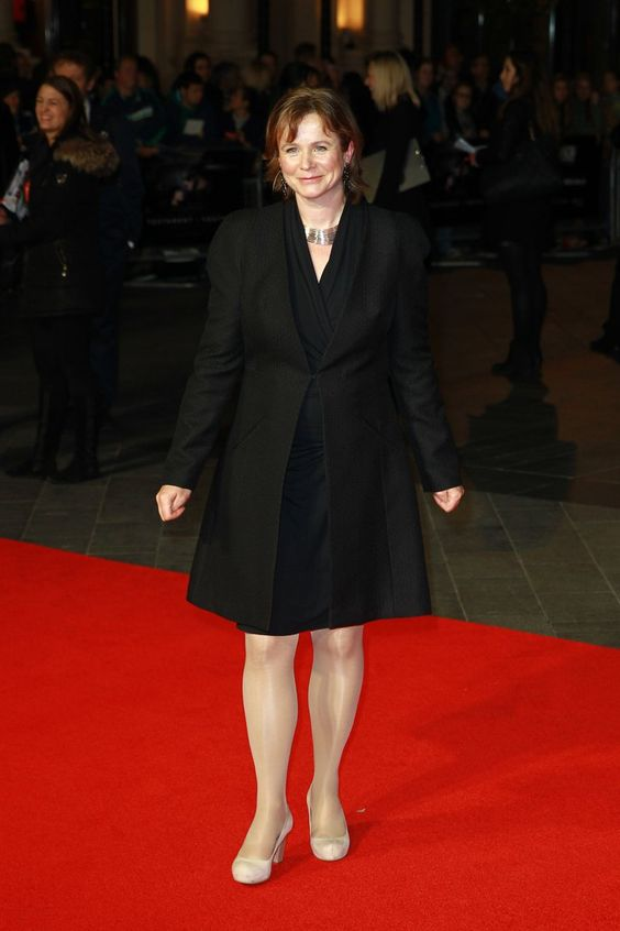 Pin for Later: That's a Wrap! See All the Stars Who Ditched Hollywood For the London Film Festival Emily Watson Emily kept it casual in black for the screening of Testament of Youth.
