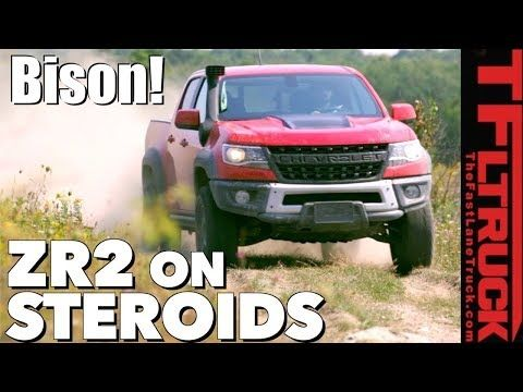 Breaking News 2019 Chevy Colorado Zr2 Bison Stampedes Into