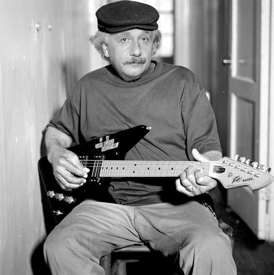 Albert Einstein. musician, did you know ?