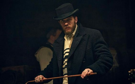 "I cant get over how much Tom Hardy changes when he's being my ""sweary Jew""! He's a force to be reckoned with!"
