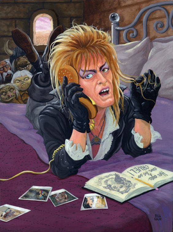 """""""I'm telling you, her eyes can be so cruel."""" 