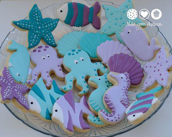 Biscoitos sereia