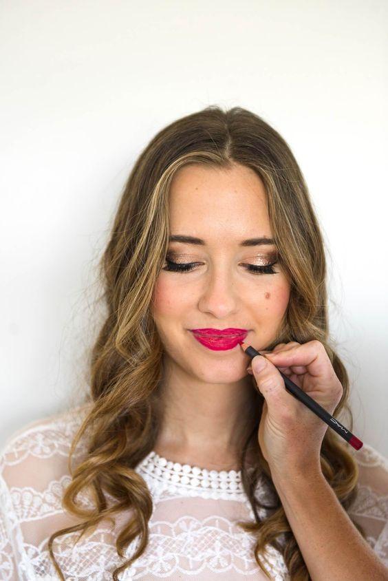 tips for applying red lipstick | For the Face | Pinterest ...