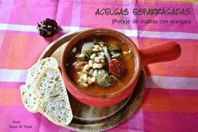 Acelgas Esparragadas - Sopa de Sopa