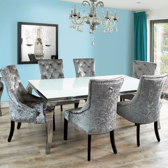 Hugedomains Com Contemporary Dining Room Sets Grey Dining Room Blue Chairs Living Room