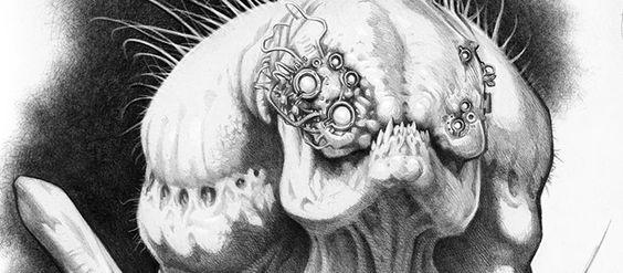 Concept Arts do filme Maze Runner, por Ken Barthelmey