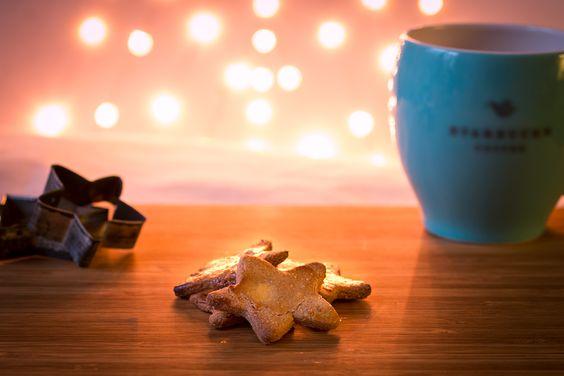 Glutenfreie Schutzengelchen in Sternenform. Tolles Rezept zur Weihnachtszeit