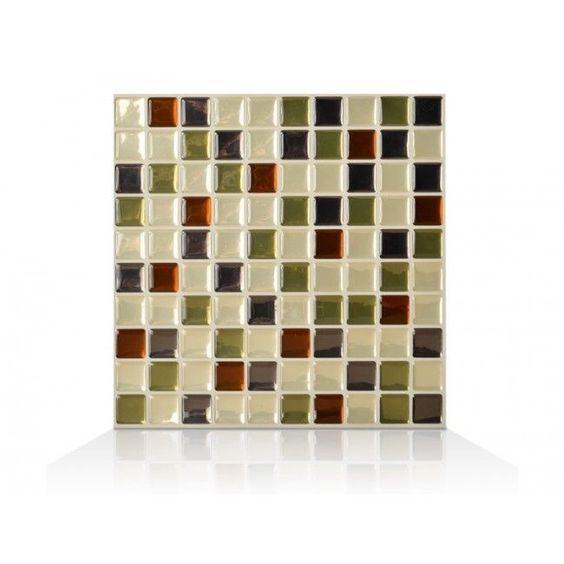 carrelage smart tiles patchwork carrelage vintage noir et blanc carrelage mural adhsif par. Black Bedroom Furniture Sets. Home Design Ideas