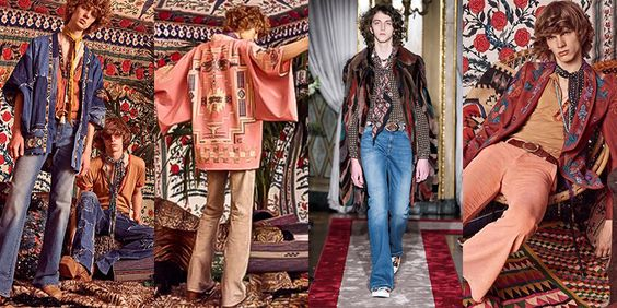 Roberto Cavalli bohemian fashion