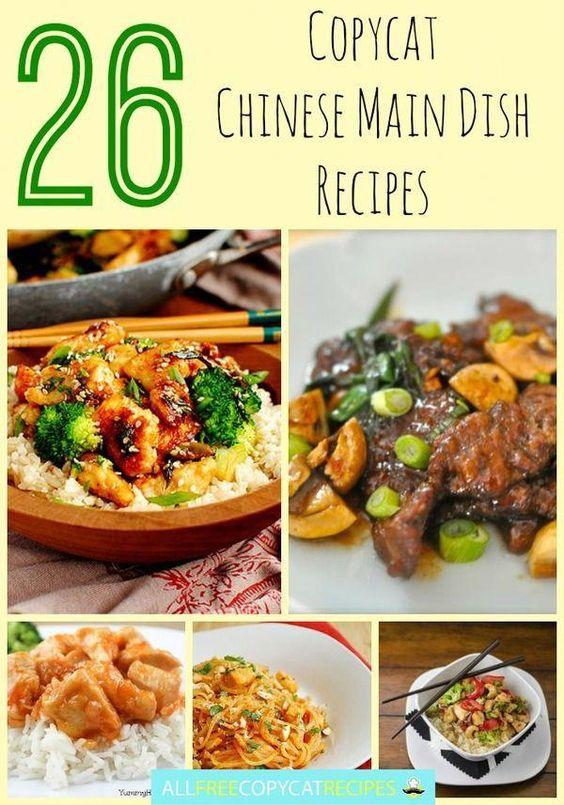 26 Copycat Chinese Main Dish Recipes
