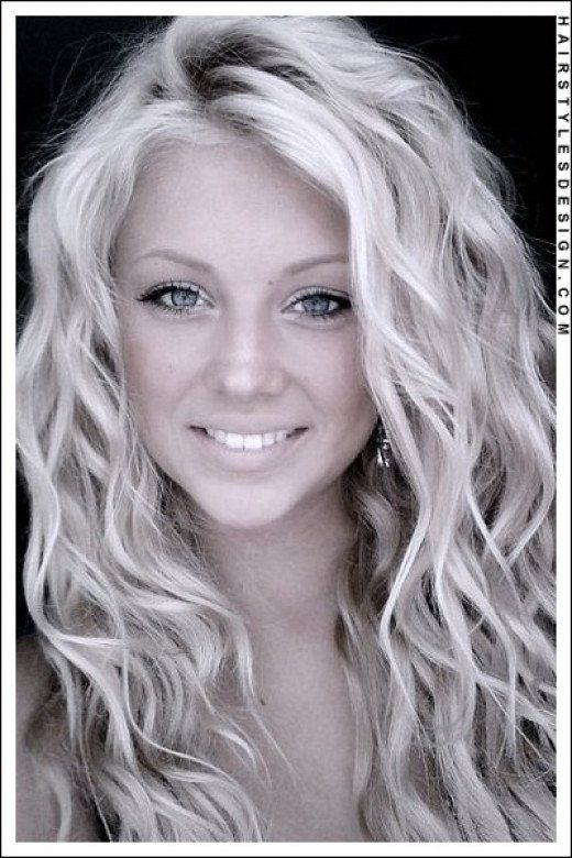 No Heat Beach Wave Hairstyle For Mid Length Or Longer Hair Hair Waves Permed Hairstyles Long Hair Waves
