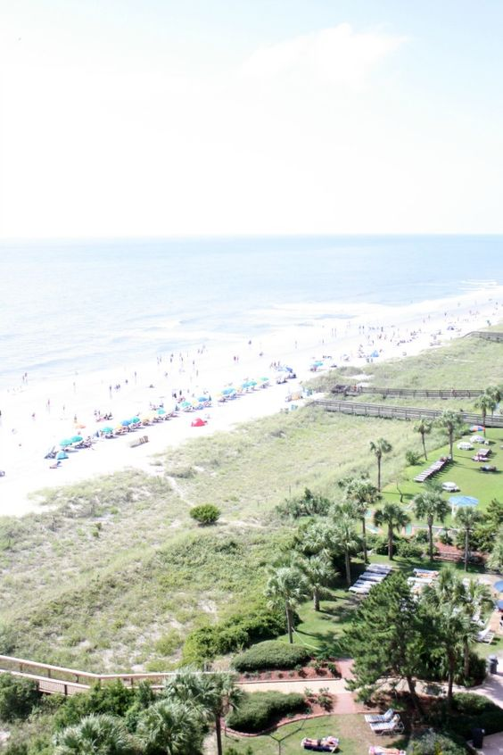 Southwind 1107 view from oceanfront balcony