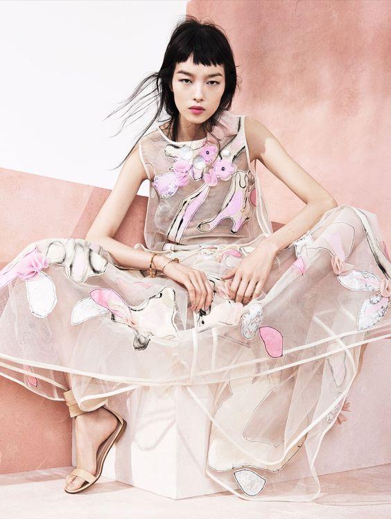 Fei Fei Sun by Sharif Hamza for Vogue China May 2014