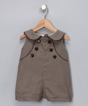Baby Sophisticates Brown Parker Romper Rompers Vintage Style And My Children
