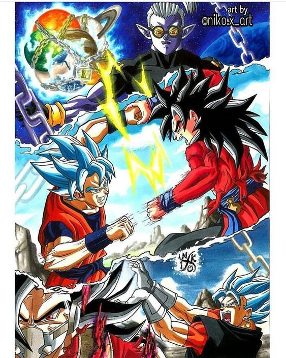 Dragon Ball Heroes Todos Episodios Online Anime Dragon Ball