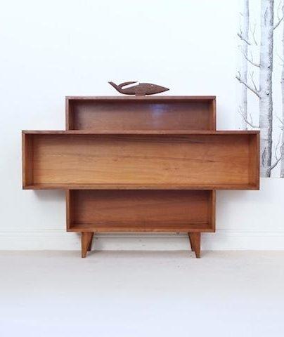 Fred Ward; Myrtle Wood Bookcase, 1950s.