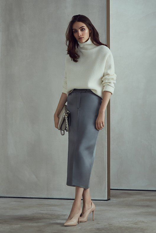 AW17 WOMENSWEAR LOOKBOOK Look 7 REISS - Shop The Lookbook : Visit REISS and look through our exclusive range of products in the aw17 womenswear lookbook. look 7 features our products; fraya - white, era - cinder, jil - nude.