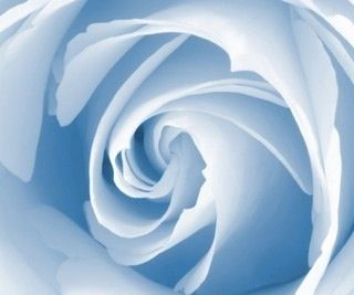 So soft of a blue