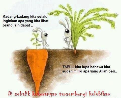don't compare advantage people with our self! Always say Alhamdulillah ;)