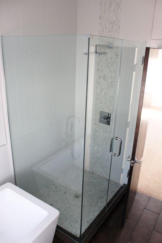 Meade House master shower