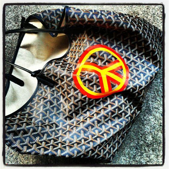 Loving my Goyard bag!