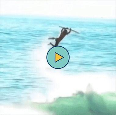 o truque de surf perfeito