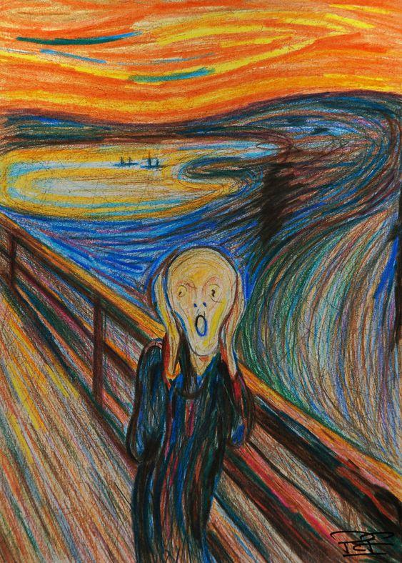 'The Scream' Parody