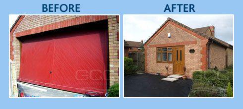 garage door conversion garage apartments pinterest garage doors doors and door redo