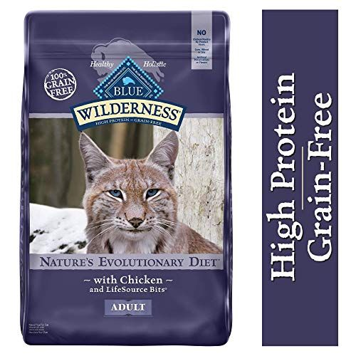 Blue Buffalo Wilderness Excessive Protein Grain Free Pure Grownup