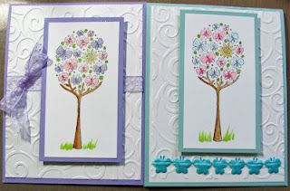 Not sure of the stamp name...maybe Butterfly Tree?  It's from Impression Obsession stamps.: