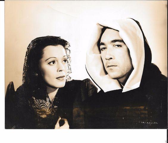 "Anthony Quinn Fely Franquelli ""Back to Bataan"" 1945 Press Photo 7x9 | eBay"
