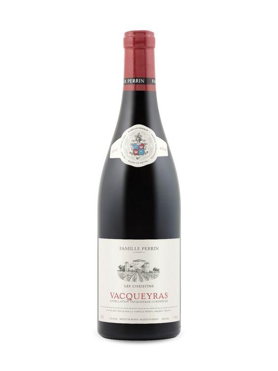 Famille Perrin Les Christins Vacqueyras 2012  Rhône A.C., France Natalie's Score: 92/100 http://www.nataliemaclean.com/wine-reviews/famille-perrin-les-christins-vacqueyras-2012/217610 #wine