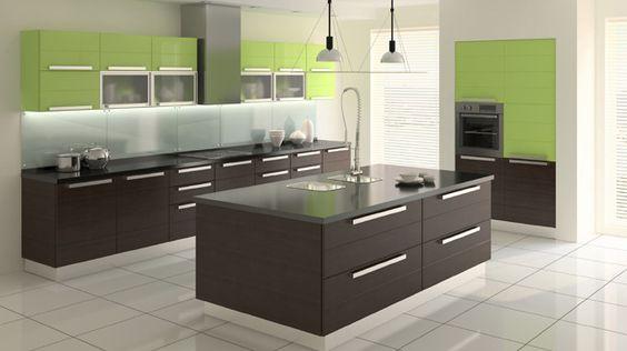 Bucatarie visiniu cu crem bucatarie Pinterest - küche schwarz braun