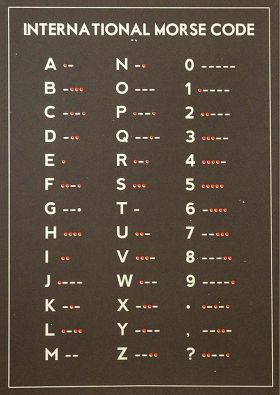 Morse Code Survival Skills Morse Code Survival Tips