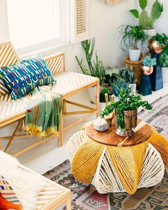 Lovely Boho Home Decor