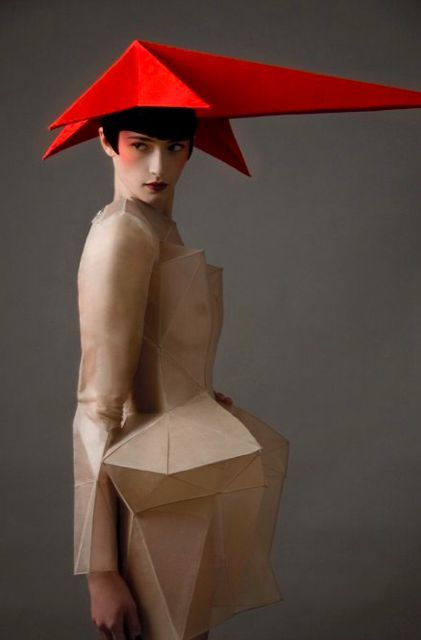 Stephen Jones, Star of Russia Hat from the 2001 Collection, photographed by Gitte Meldgaard for Flaunt, 2011: