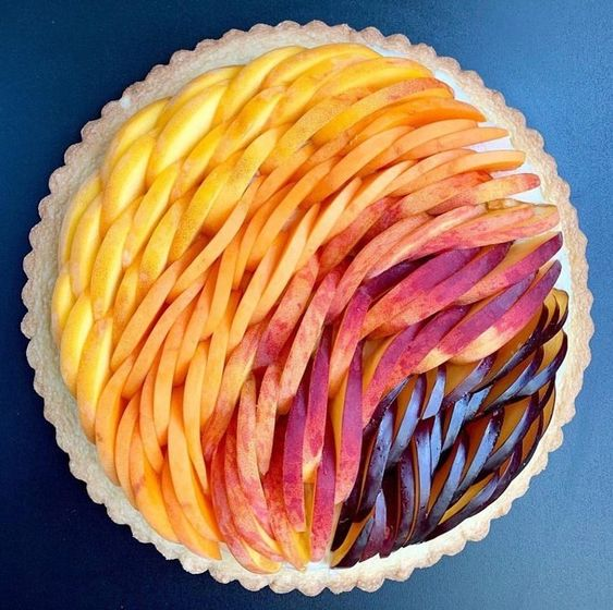 8. A simple fruit pie - Happy Worthy Life. Creativity - Wonder - Inspriration - Art