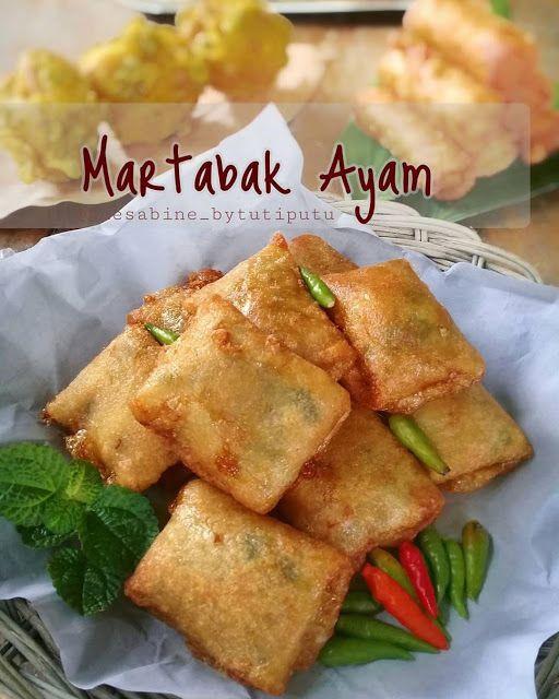 Martabak Ayam Ala Kuesabine Bytutiputu Resep Aneka Jajan Pasar Resep Masakan Masakan Resep