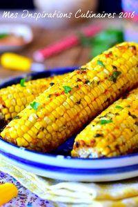 Épis de maïs grillé au four