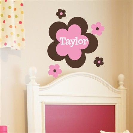 Rosenberry Rooms is offering a 10% discount on your purchase of $350 or more.  Share the news and take advantage of the savings! Flower Power Wall Decal #rosenberryrooms