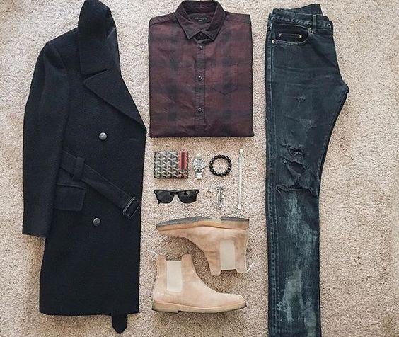 WEBSTA @ streetfitgrid - #Streetfitgrid by @ldn2hk 😎🌟-SaintLaurent Jacket