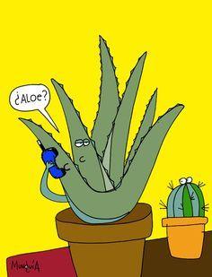 plant humor: