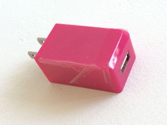 USB Adapter for Charging Devices Intertek Raspberry Wireless Gear #WirelessGear